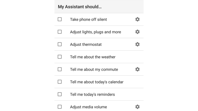 Google Routines My Assistant Should