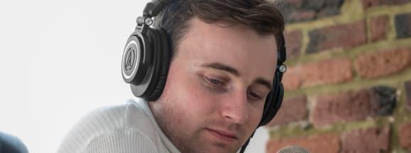 Audio technica ath m50x review design podcast 1