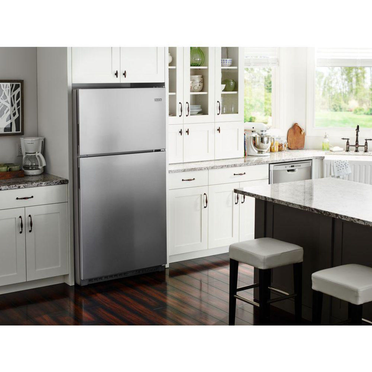 Maytag Mrt118fffz 30 Inch Top Freezer Refrigerator