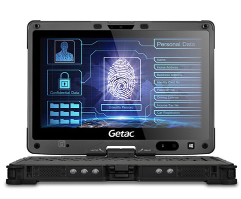 Getac V110 laptop