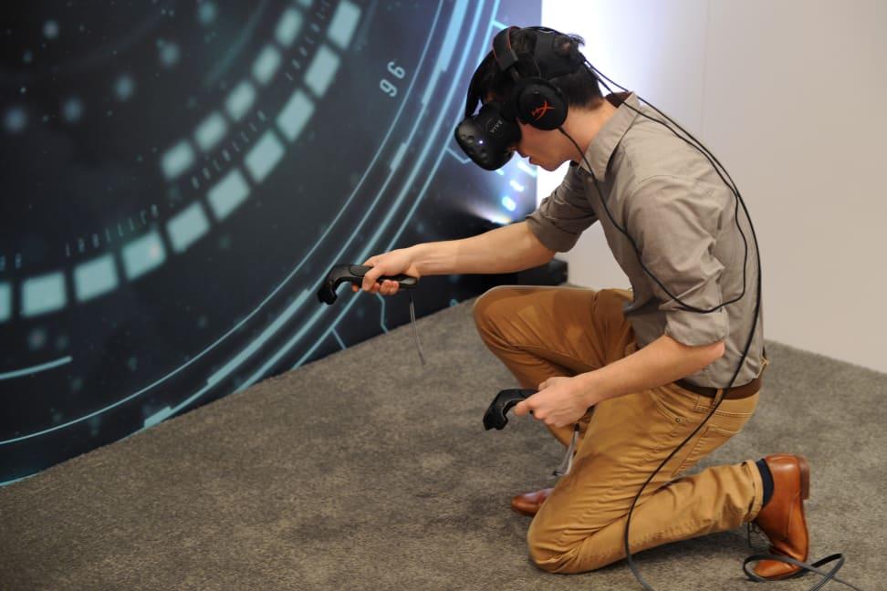 HTC Vive - Crouching