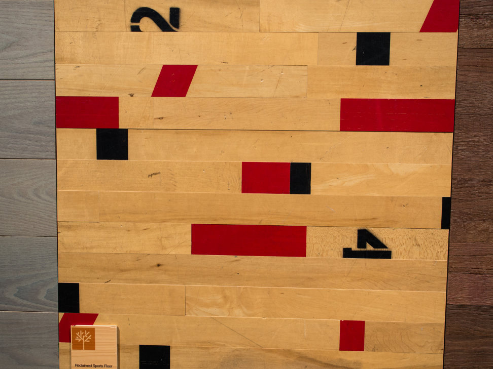 Stikwood Gym Floor Paneling