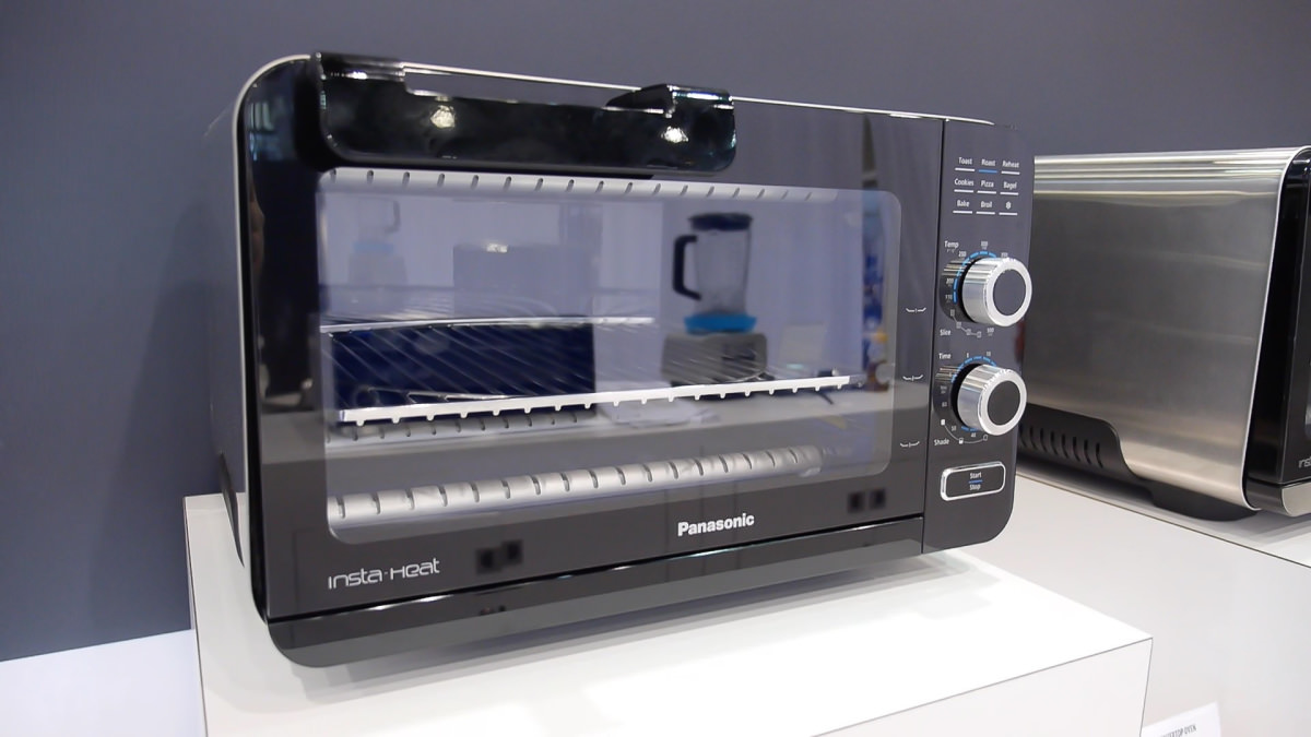 Panasonic Debuts New Insta Heat Toaster Ovens Reviewed Ovens