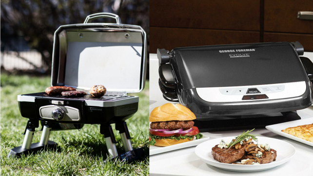 Cuisinart and George Foreman Grills