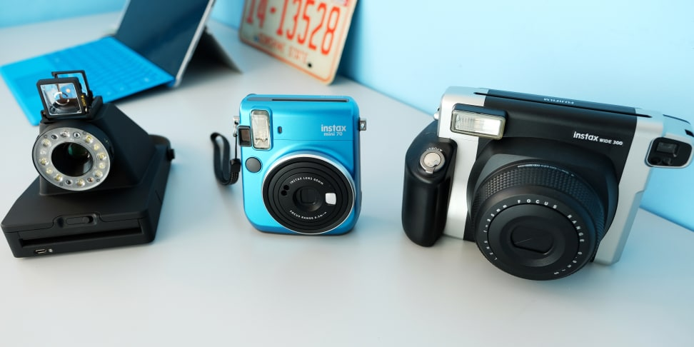 three new instant cameras