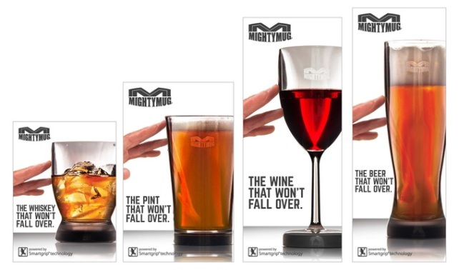 Mighty Mug Barware Lineup