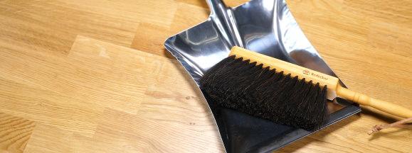 Bu%cc%88rstenhaus redecker stainless dustpan and brush