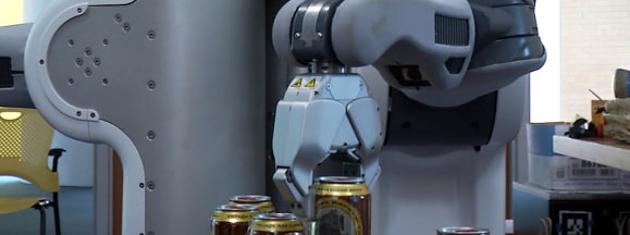 Beer robot hero
