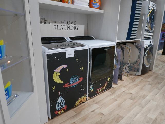 Whirlpool Chalkboard Laundry Skin