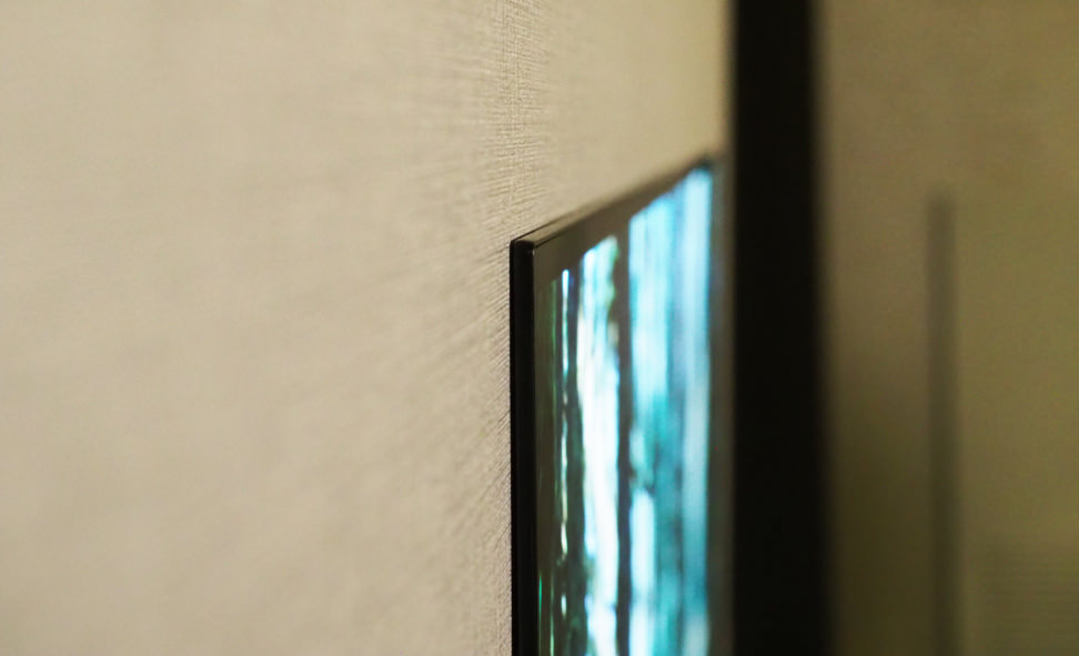 LG 65W7 Wallpaper 4K OLED TV Hands-on Review