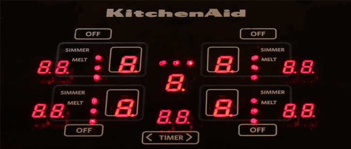 Nice KitchenAid KICU509XBL 30 Inch Induction Cooktop Review   Reviewed.com Ovens