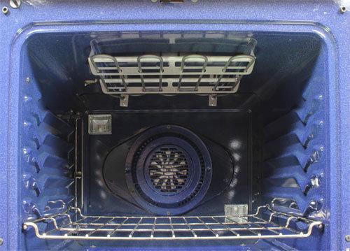 Upper Oven Detail Photo