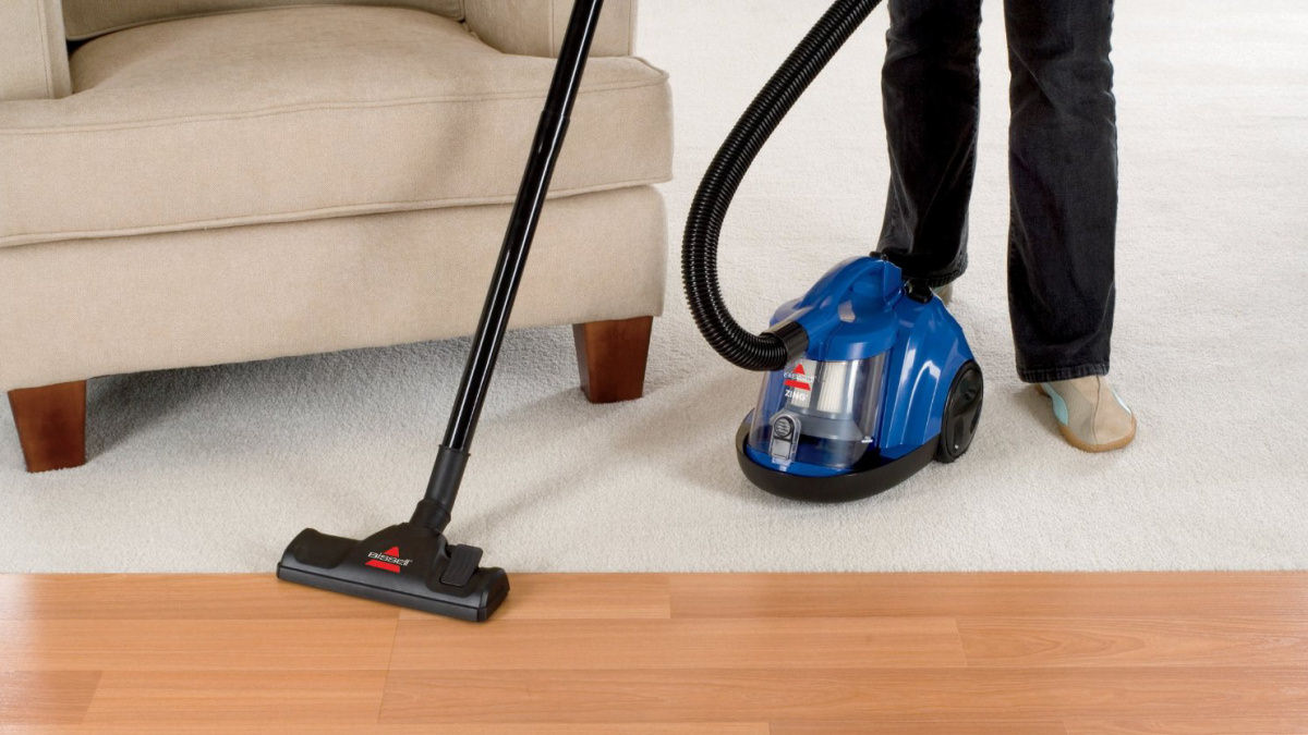 Bissell Zing 6489 Canister Vacuum Cleaner Review