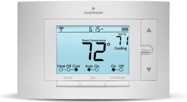 Product Image - Emerson Sensi Wi-Fi Programmable Thermostat