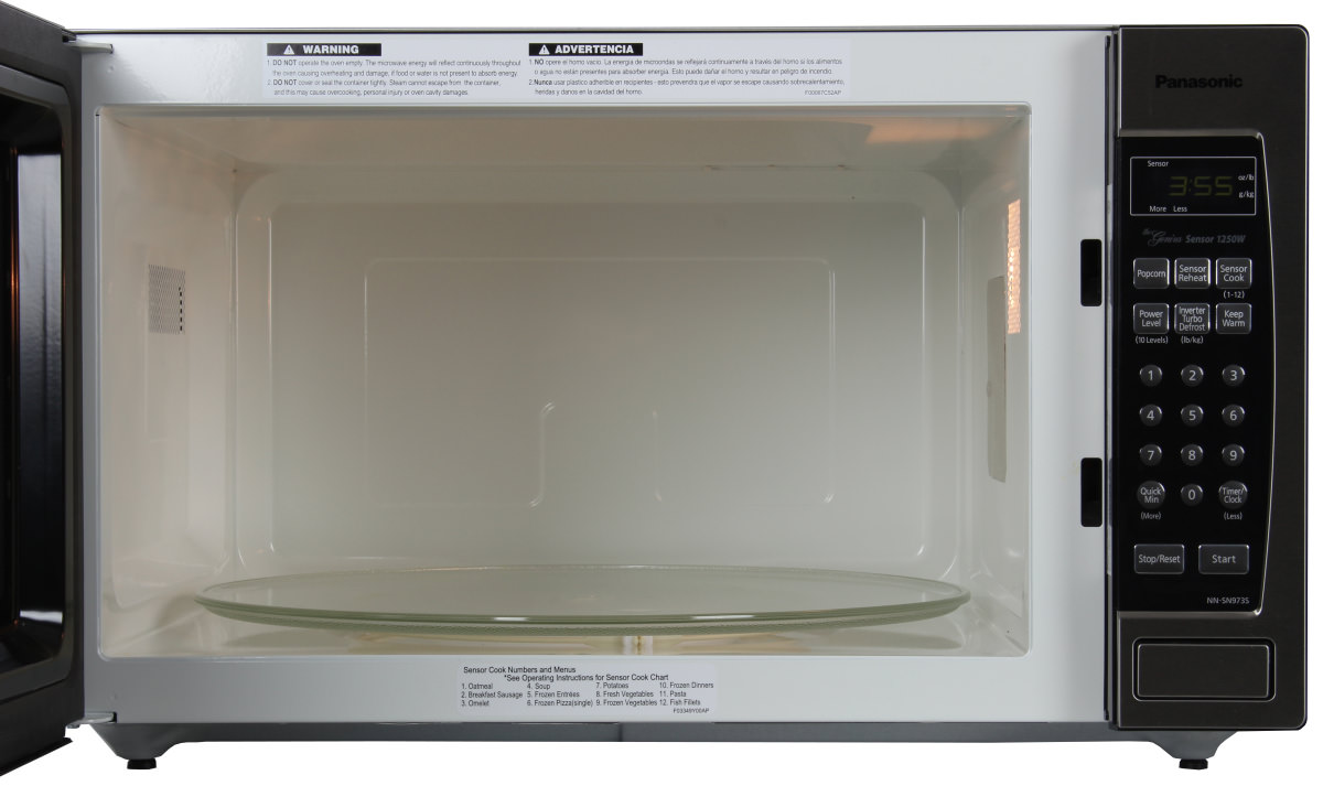 The Microwave Has A Mive 2 Cubic Foot Capacity Panasonic Nnsn9735 Profile