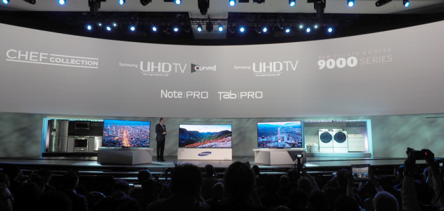 All of Samsung's CES 2014 products