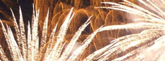 Fireworks hero