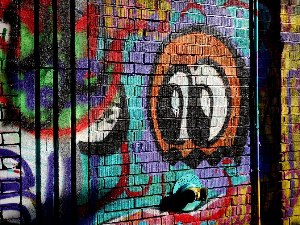 Sample graffiti
