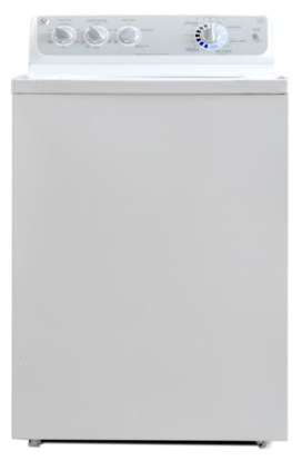 at a little over 579 on sale the ge gtwn4450mws is the highestend traditional washer you can buy for that you get few controls uneven performance and a