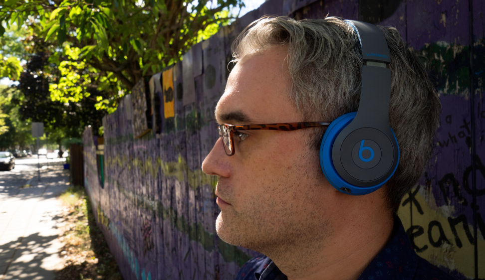 Beats Solo2 Wireless Headphones in Profile