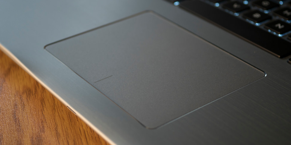 Dell Inspiron 15 7000 2-in-1 trackpad