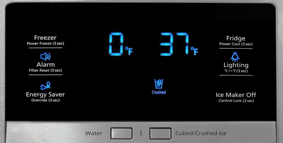 Samsung RF23HTEDBSR Controls