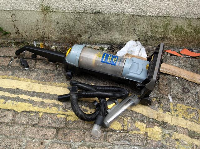 Discarded Vacuum