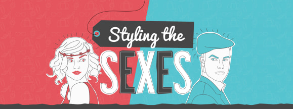 Styling the sexes hero
