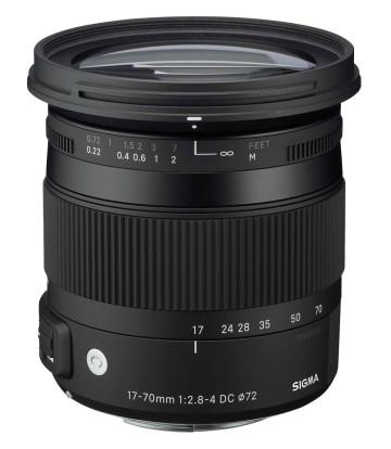 Product Image - Sigma 17-70mm f/2.8-4 DC Macro (OS)* HSM | C