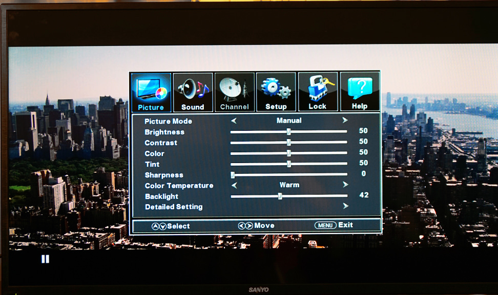 39 sanyo lcd 1080p hdtv fvm3982 specifications
