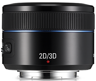 Product Image - Samsung 45mm f/1.8 2D/3D