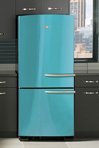 Sick Of Stainless Ge Fridges Get A Kick Of Color Reviewed Com