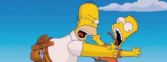 Bart homer hero