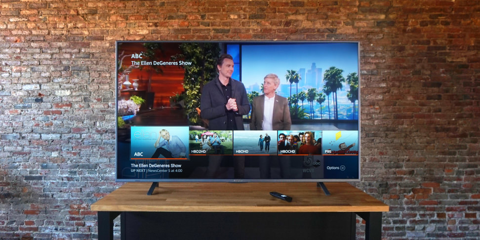 Westinghouse Amazon Fire TV Channel Guide
