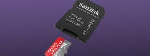 Sandisk microsd card deal hero