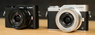 Lumix gx850 black white