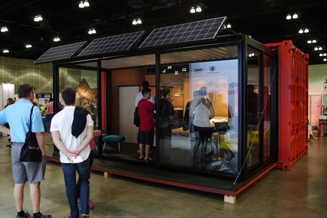 Home on display at Dwell on Design