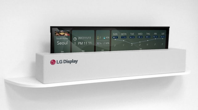 LG Display Rollable OLED
