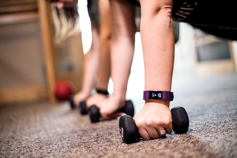 Fitbit Charge 2 in action