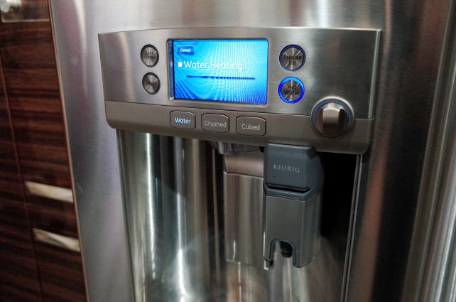 GE Cafe Fridge with Keurig