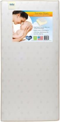Product Image - Delta Children Twinkle Stars Crib & Toddler Mattress