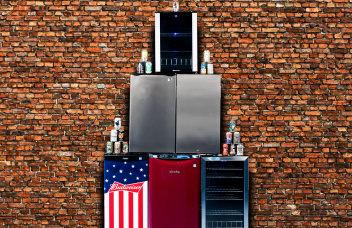 Beer fridge hero