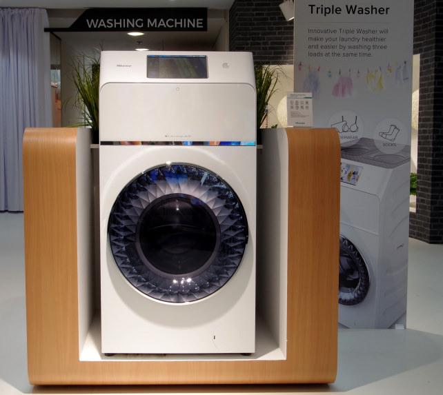 Hisense Triple Washer