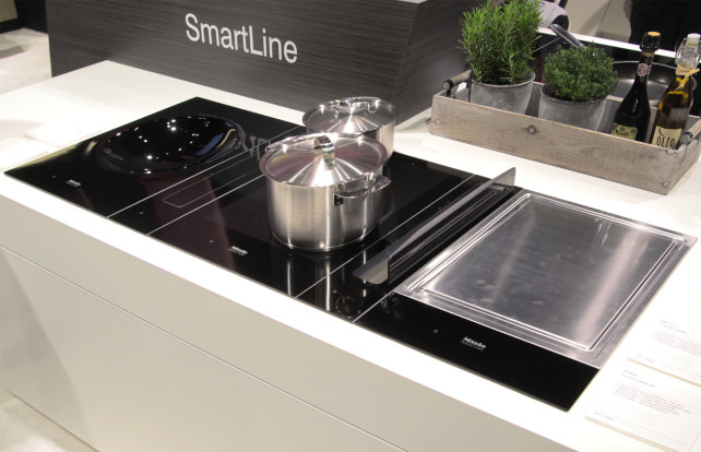 Miele SmartLine modular cooking appliances