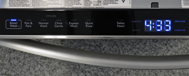 Kenmore Elite 14793 Cycle Controls
