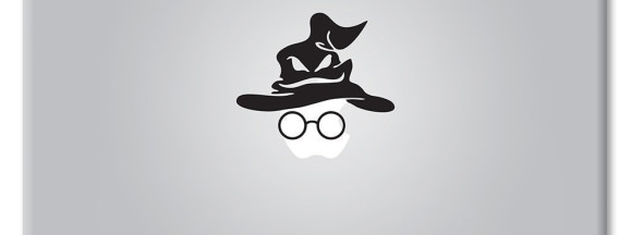 Apple logo harry potter sorting hat