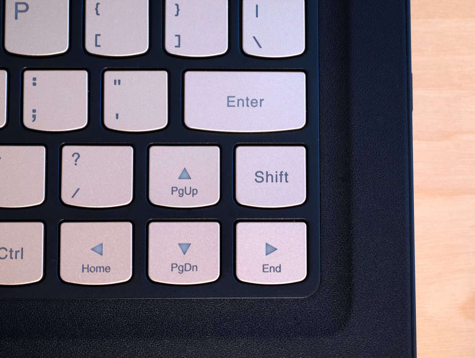Lenovo Yoga 900s Shift Key