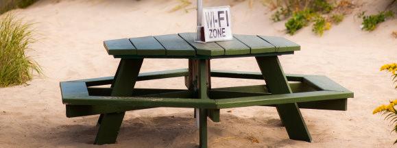 Outdoor wifi hero