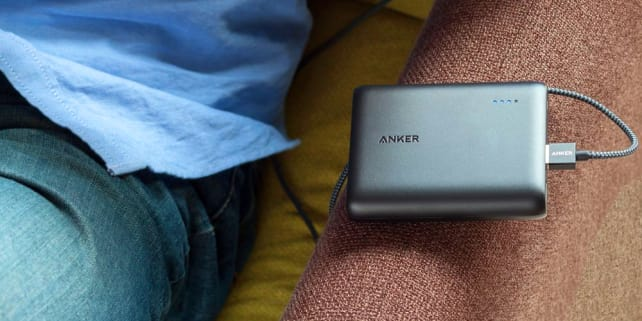 Anker PowerCore 10400 In Use