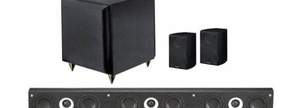 Pinnacle speakers mb 10000 home theater tvi